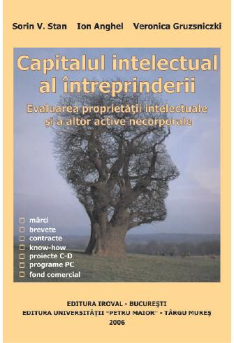 CAPITALUL INTELECTUAL AL ÎNTREPRINDERII. EVALUAREA PROPRIETĂȚII INTELECTUALE ȘI A ALTOR ACTIVE NECORPORALE