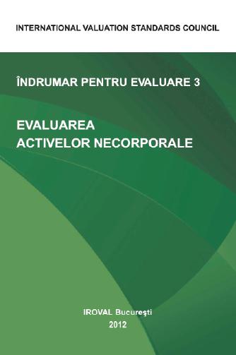 ÎNDRUMAR PENTRU EVALUARE 3. EVALUAREA ACTIVELOR NECORPORALE